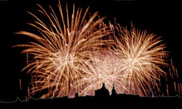 Festa fireworks