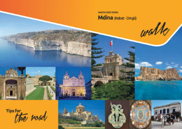 This Brochure details a walk around Mdina pointing out important sights