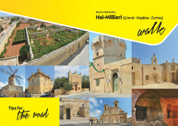 This Brochure details a walk in the outskirts of Zurrieq and Mqabba pointing out important sights