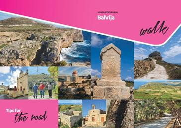 This Brochure details a walk around Bahrija pointing out important sights
