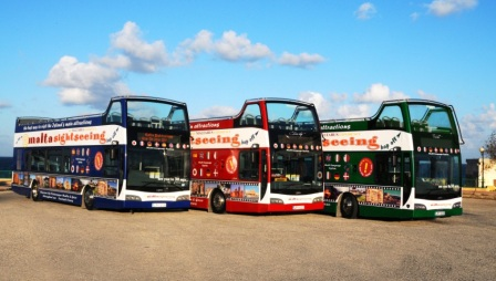 Malta Sightseeing Bus