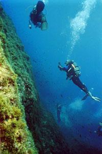 San Dimitri Diving Site