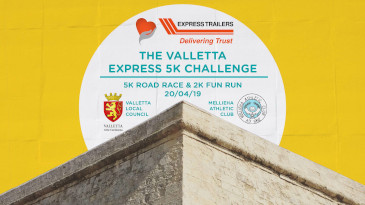 VALLETTA 5K RACE & WALK - YES!